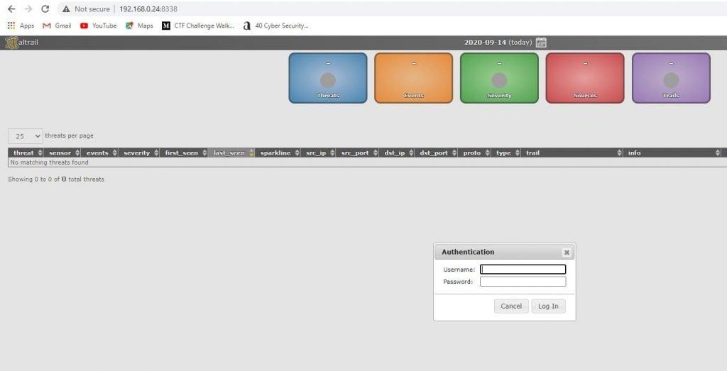 Matrail tool login page