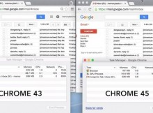 Chrome becomes a bit less of a memory hog with version 45